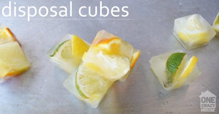 DIY disposal cubes