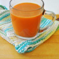 carrot cider immune tea