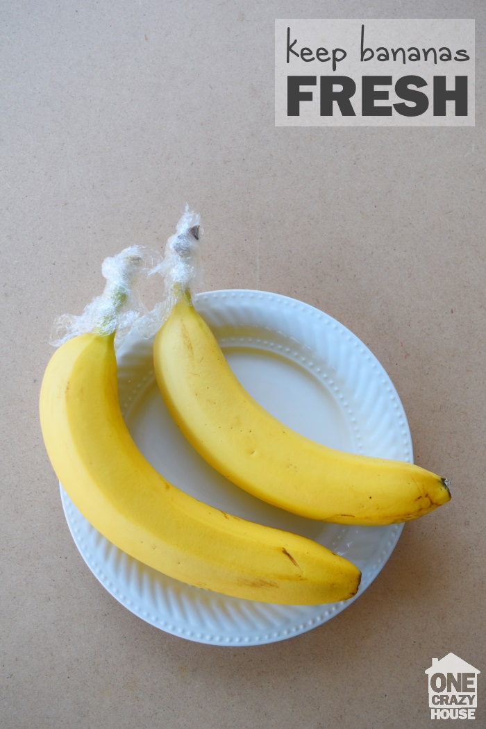 the secret on how to keep bananas fresh