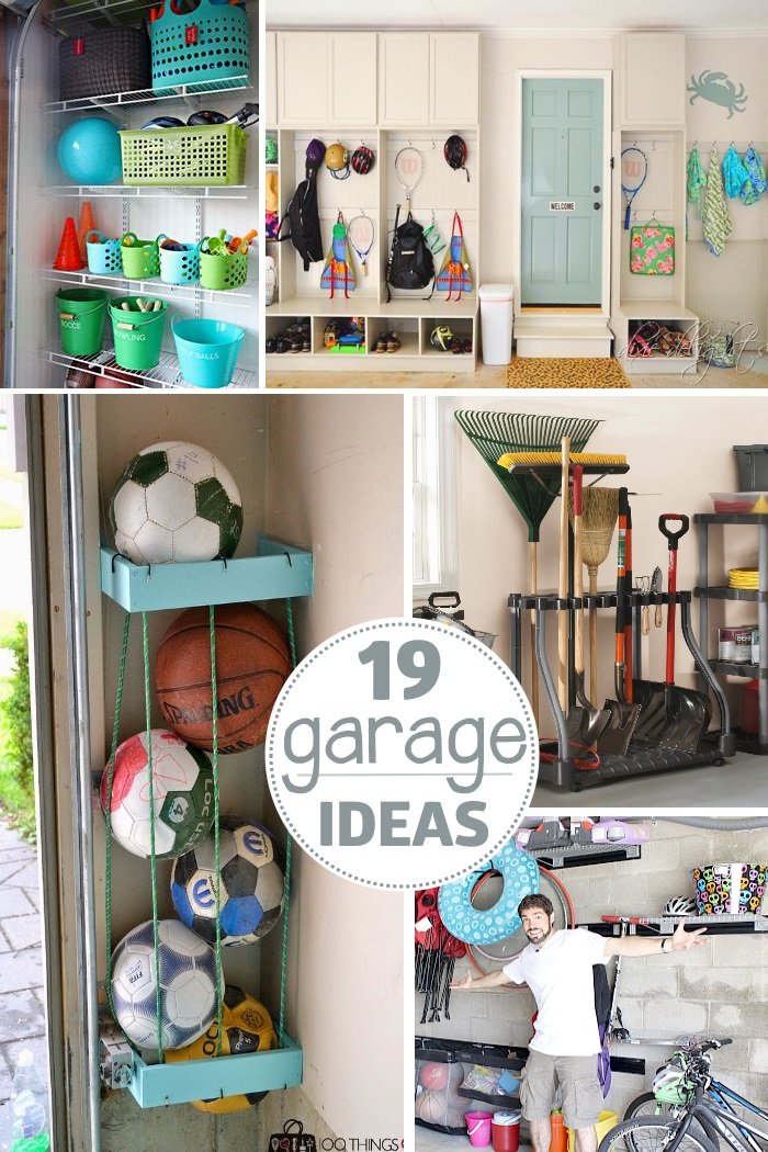 Garage organization tips 18 ways to find more space in the garage - Ways of creating more storage space in your home ...