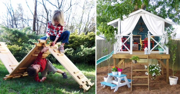 24 Adventurous Back Yard Ideas – Fun Backyard Ideas for Kids