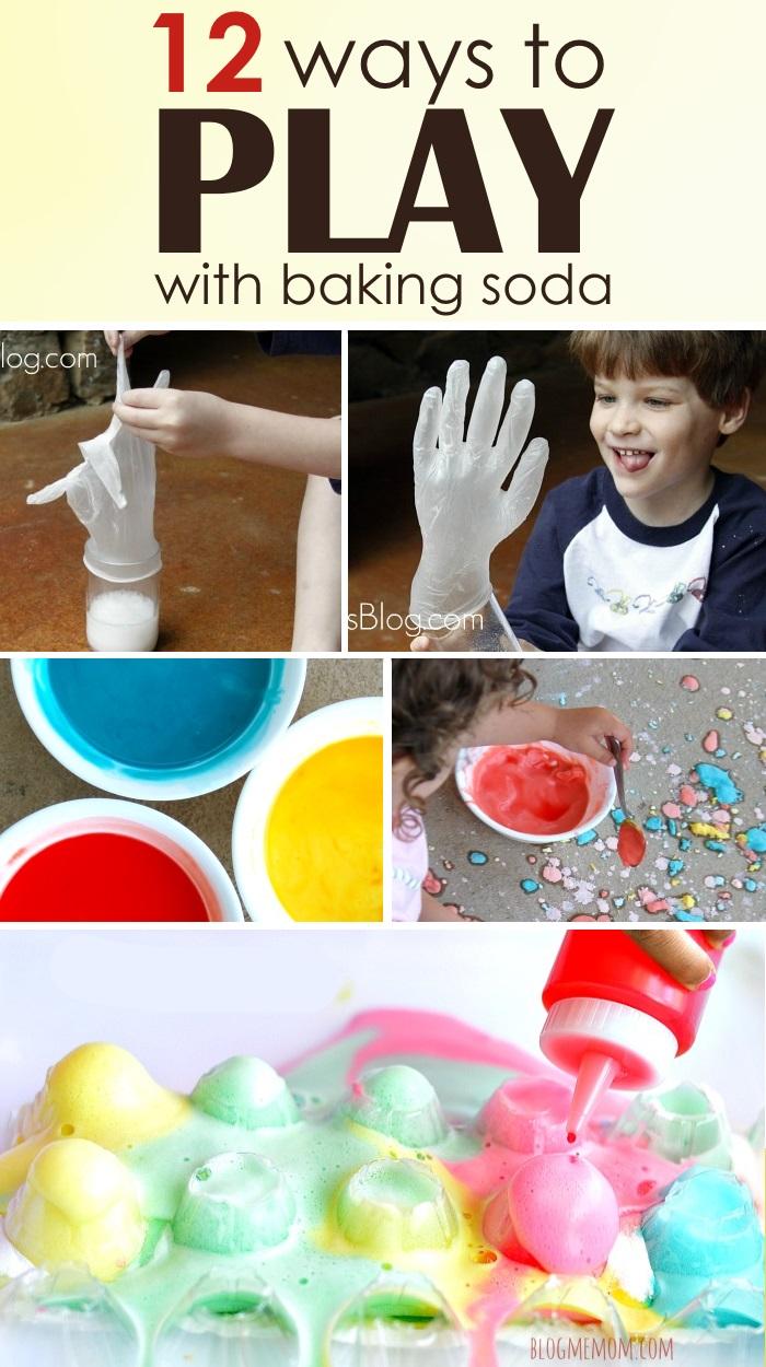 baking soda activities with kids