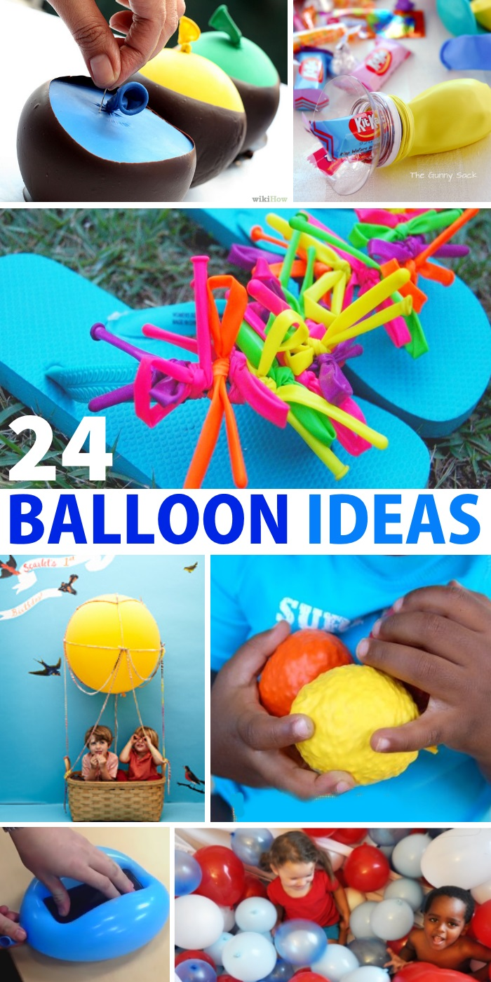 24 ways balloons can make you smile