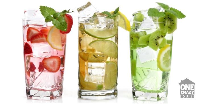 water flavor ideas using fruit