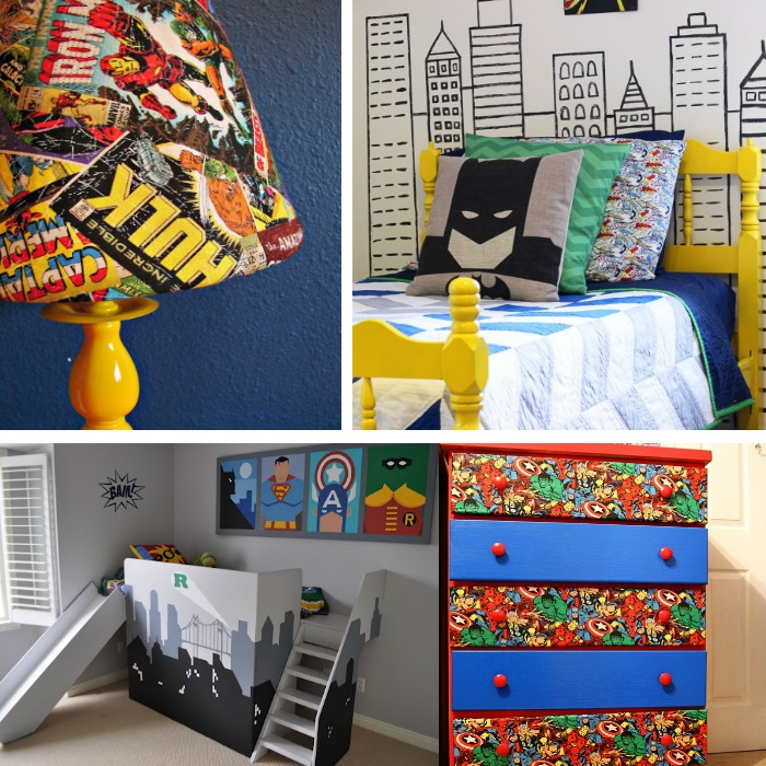 Awesome Superhero Ideas For Kids 39 Bedrooms
