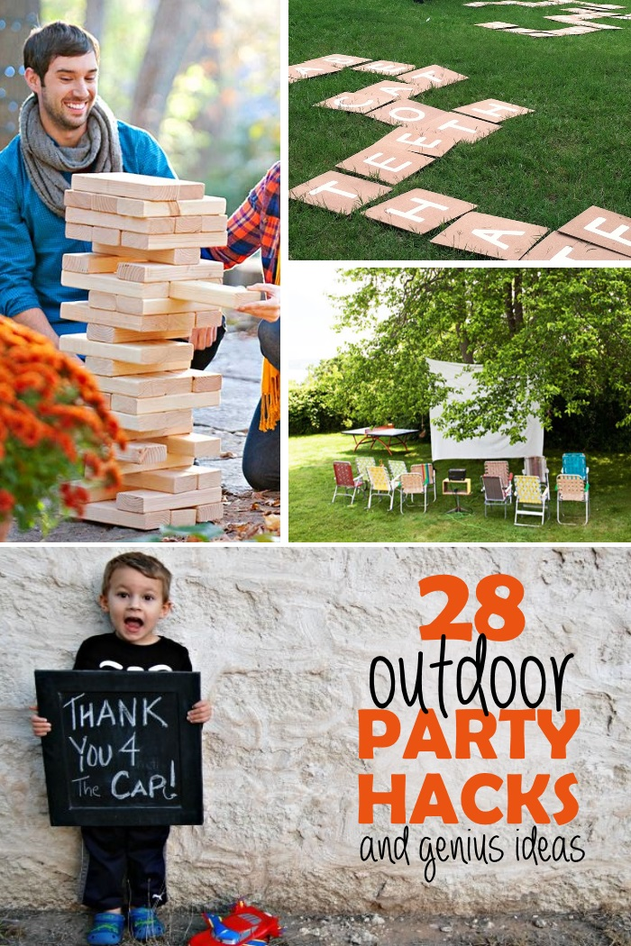 28 tips for stress free outdoor party. Black Bedroom Furniture Sets. Home Design Ideas