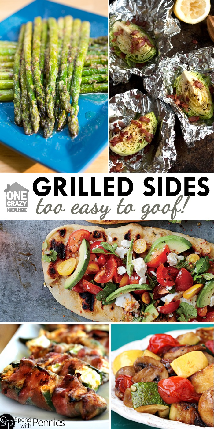 13 simple sides on the grill to make your backyard bbq the for Good side dishes for grilled chicken