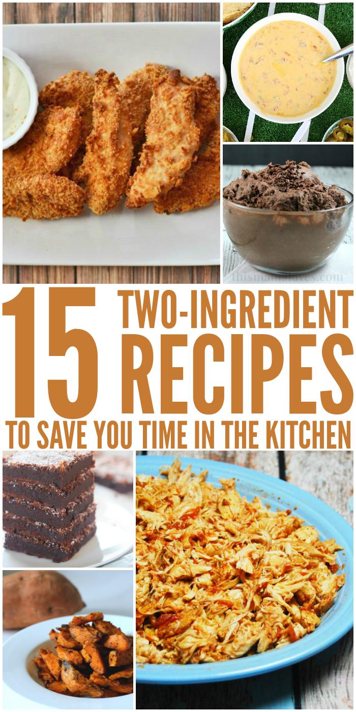 2 Ingredient Recipes