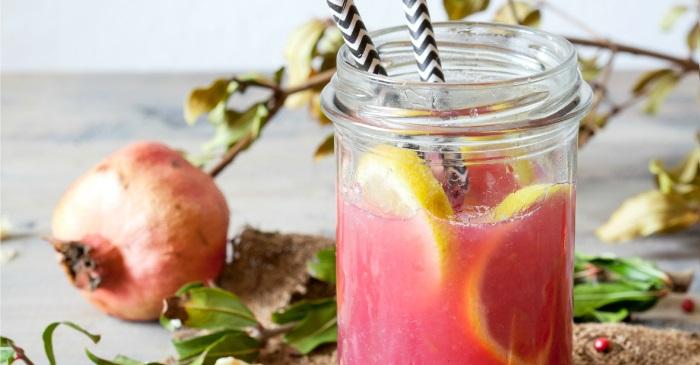 pomegranate lemonade from TTB