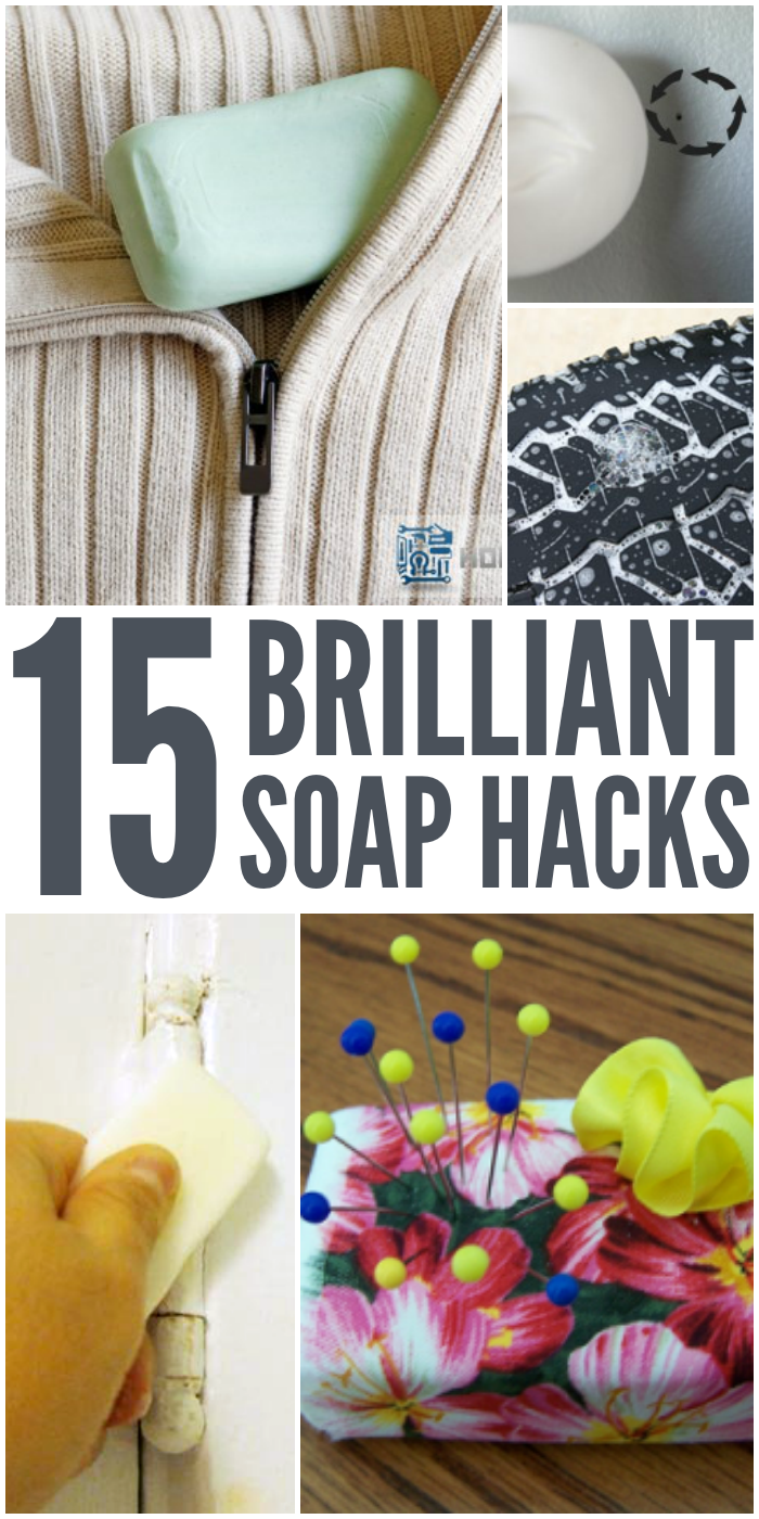 ways to use a bar of soap