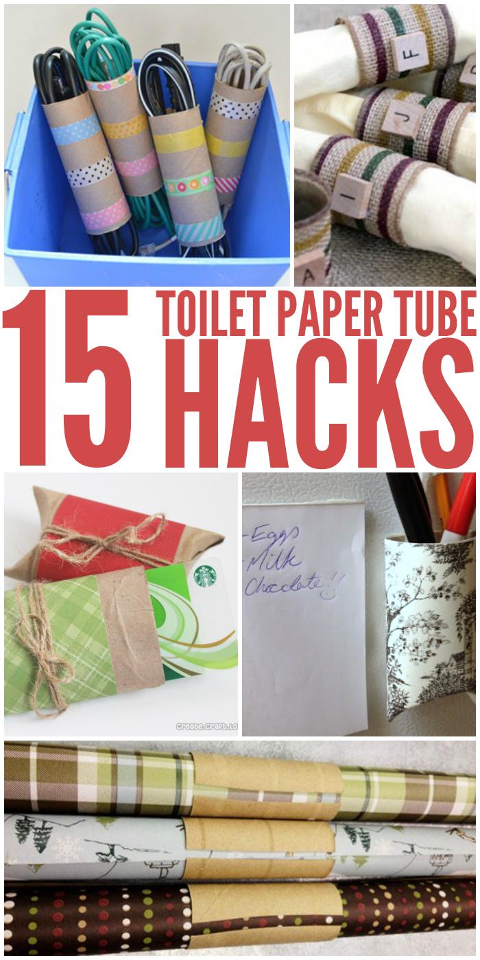 Clever Toilet Paper Tube Hacks