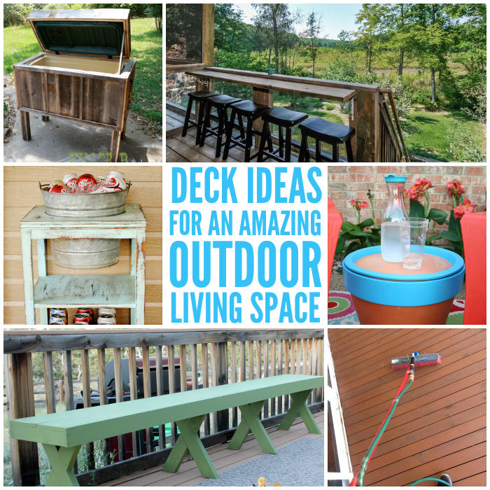 Deck Ideas for an Amazing Outdoor Living Space