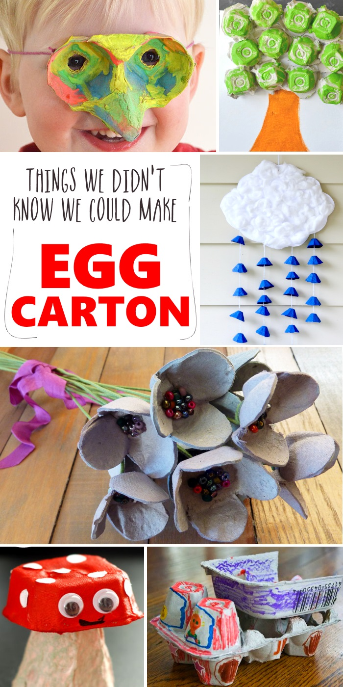 egg carton crafts 20 things you can do with an egg 1946