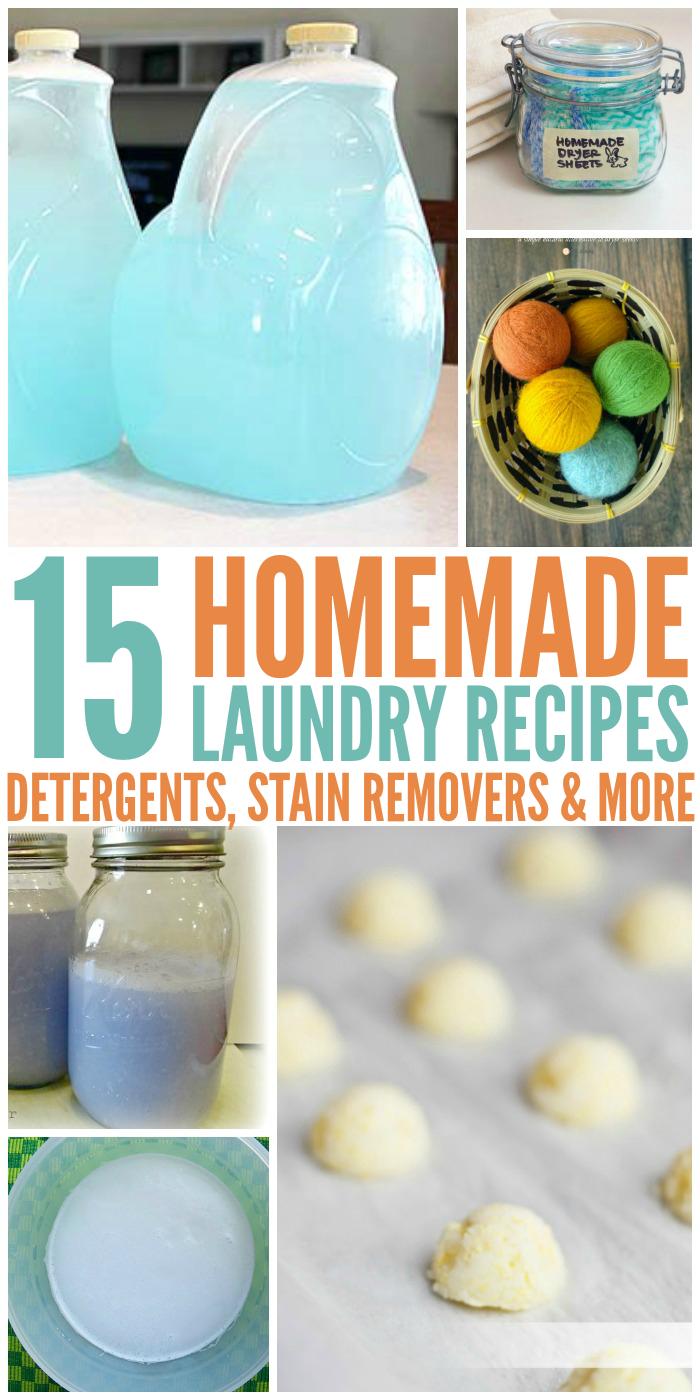 Homemade Laundry Recipes You 39 Ve Gotta Try