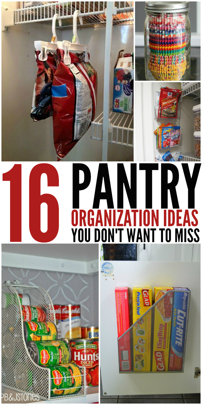Everyone's pantry could always use a little more organization. Here are some great tips, tricks, and diy ideas to help you get started.
