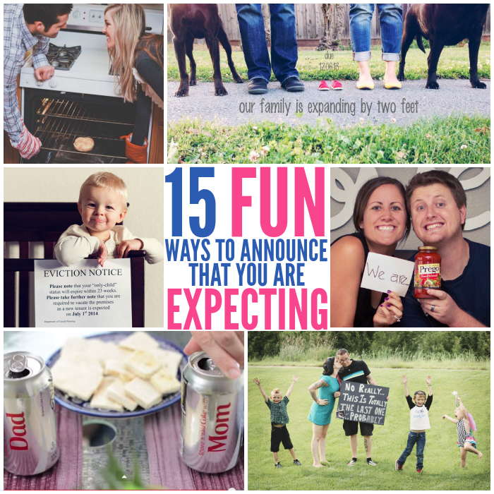 Fun Ways to Tell People that You're Expecting
