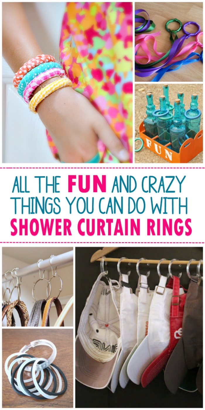 Genius ideas to use shower curtain rings in your home