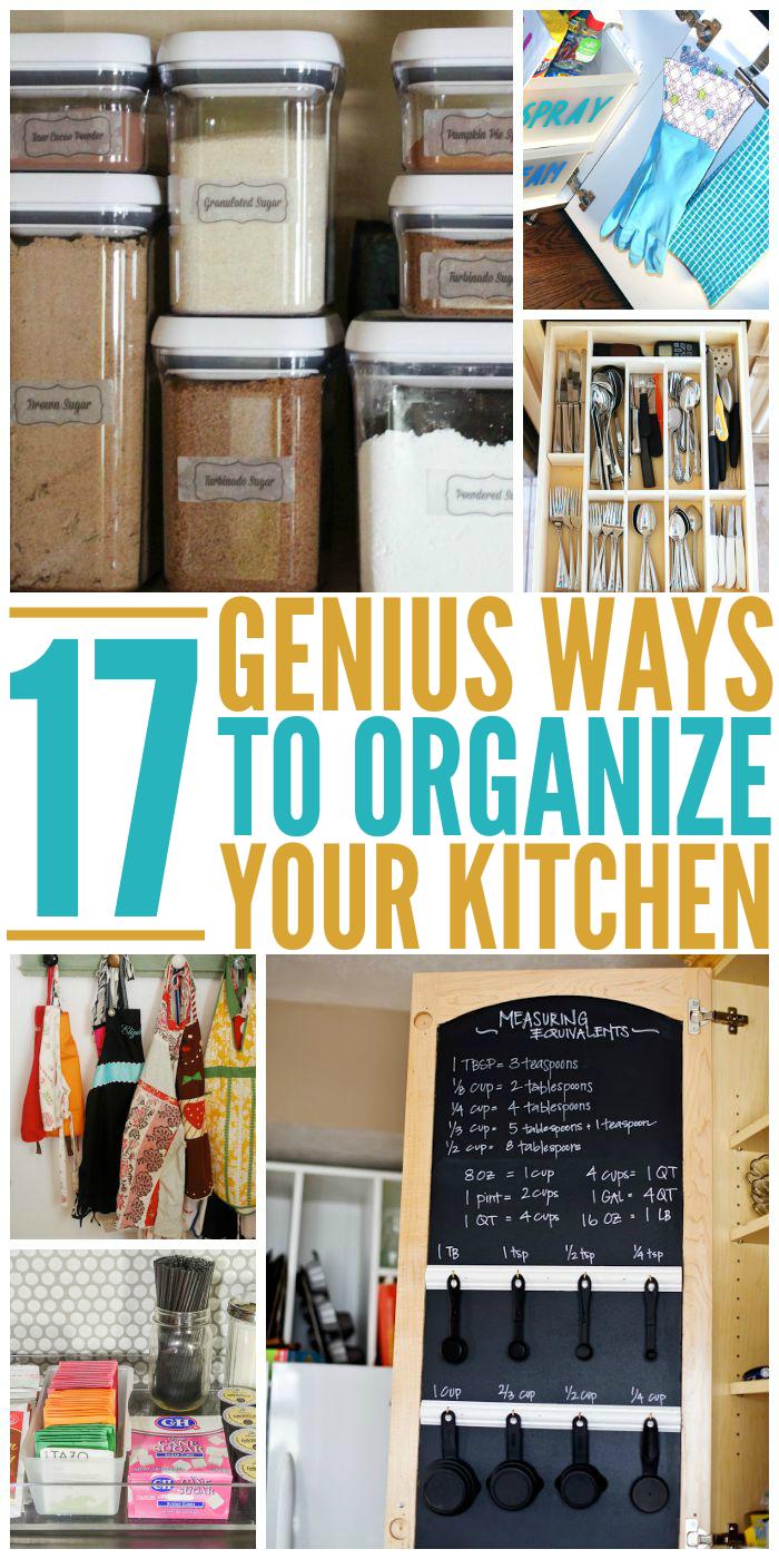 Genius Ways to Organize Your Kitchen