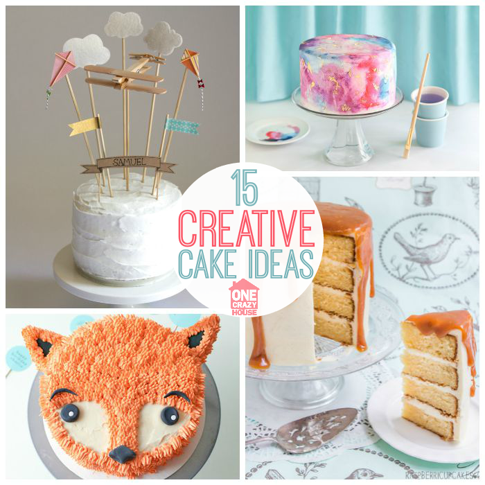 Creative cake ideas for your next birthday party