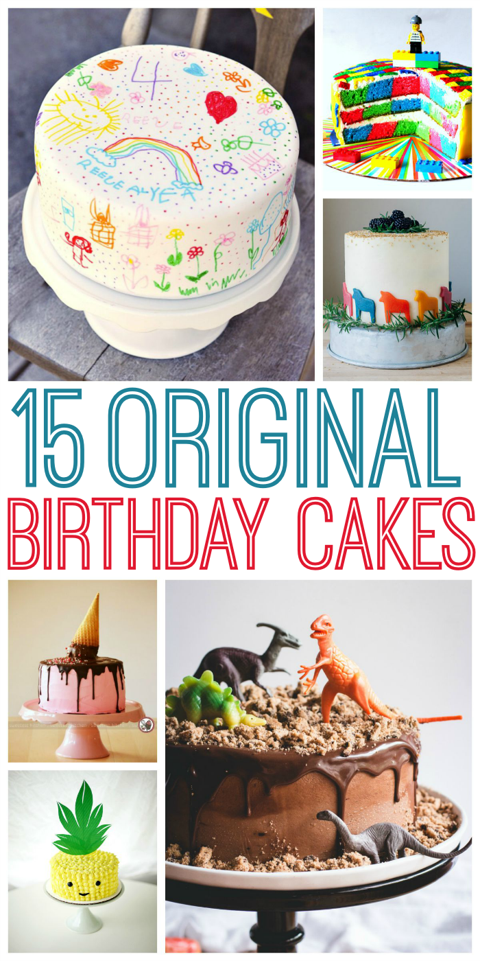 Original Birthday Cakes - No more run-of-the-mill cakes for you!
