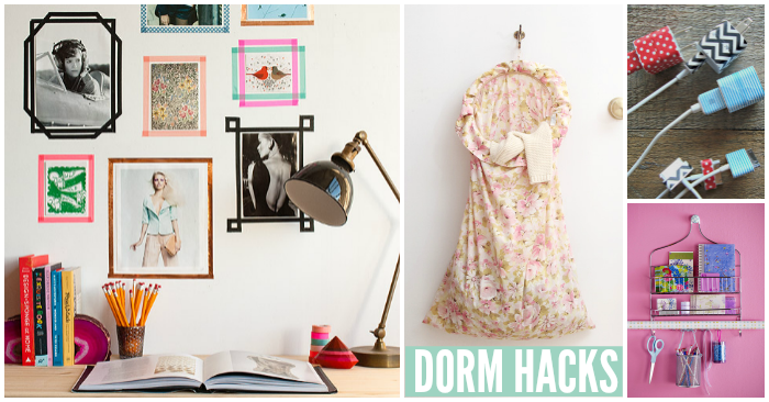 Dorm Room Hacks They Don't Teach You in College Life 101