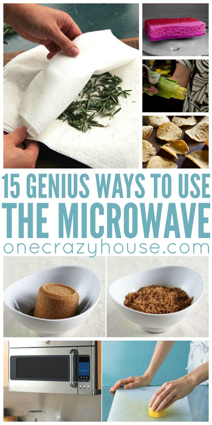 Genius Ways to Use the Microwave