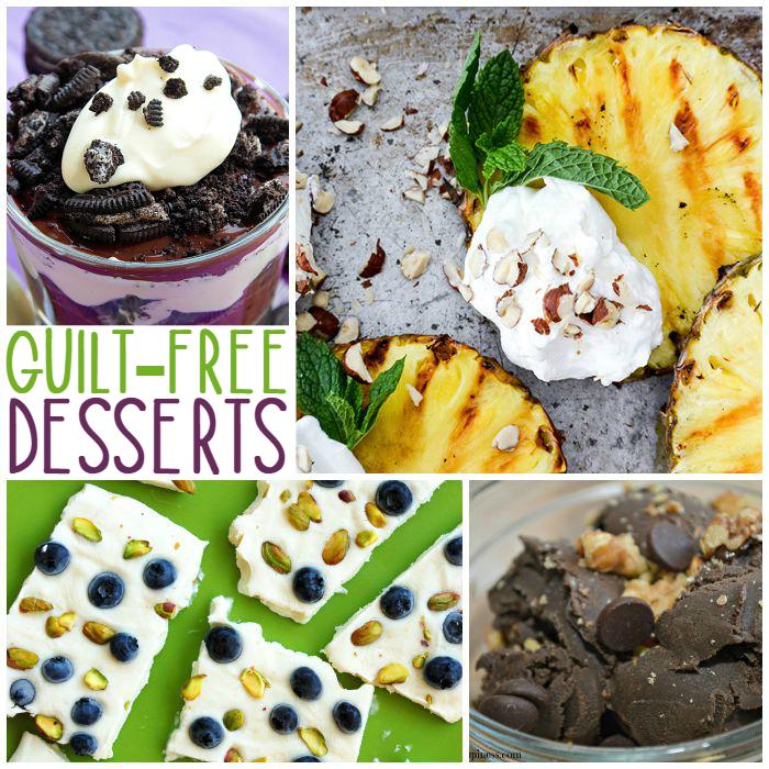 no guilt desserts