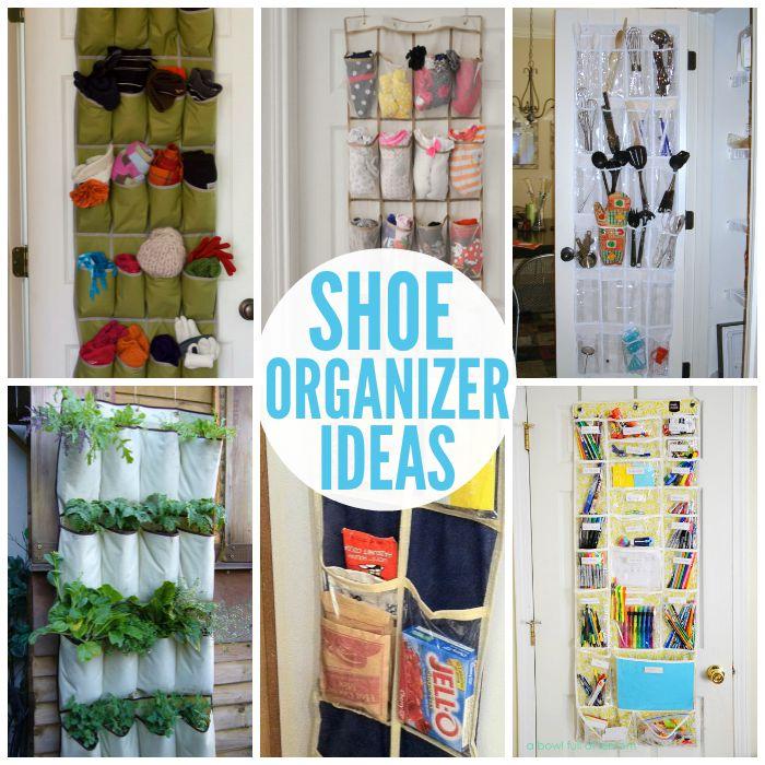Smart ways to use shoe organizers - Baby shoe organizer ideas ...