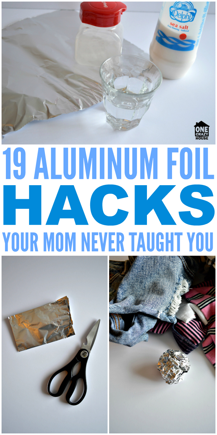 19 Aluminum Foil Hacks Your Mom Never Taught You