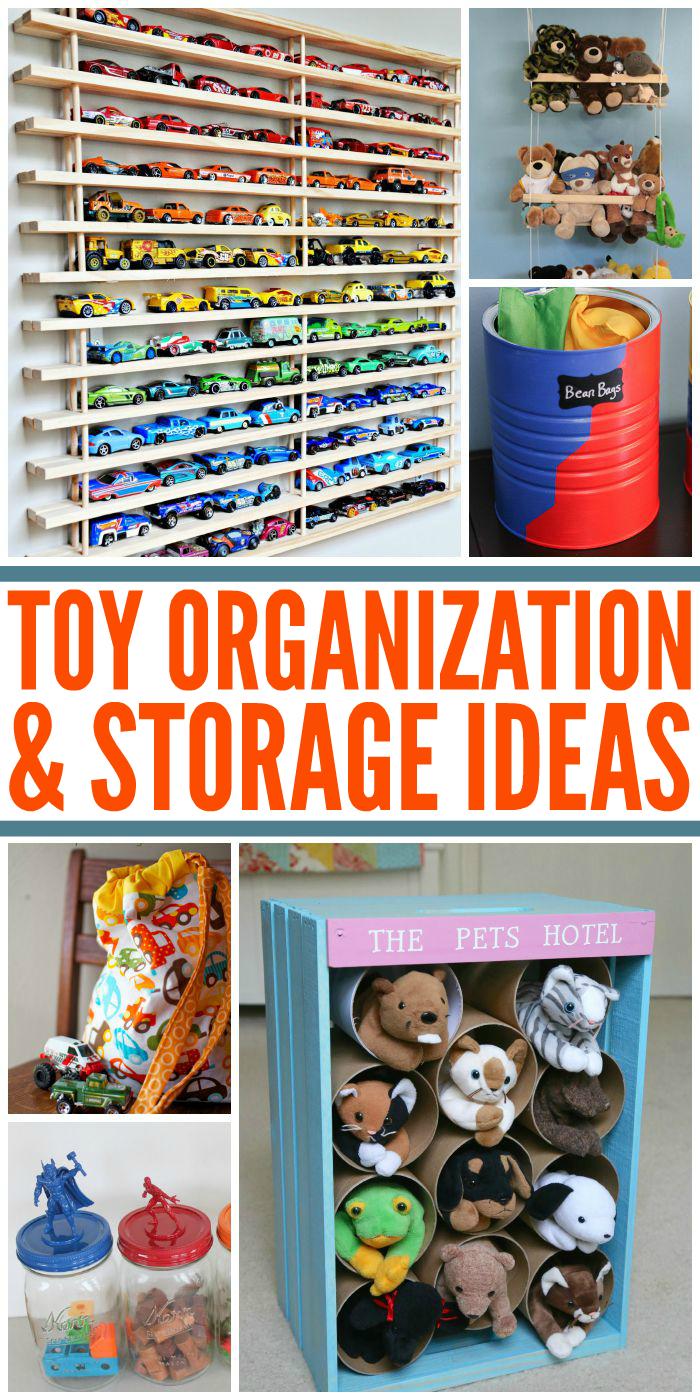 20 Totally Smart Toy Storage Ideas