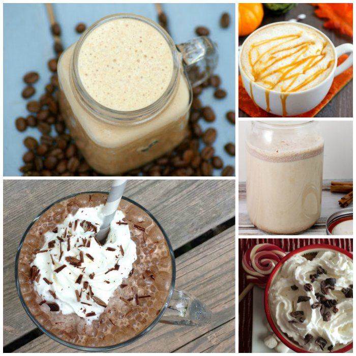 Coffee Drink Recipes Collage 3
