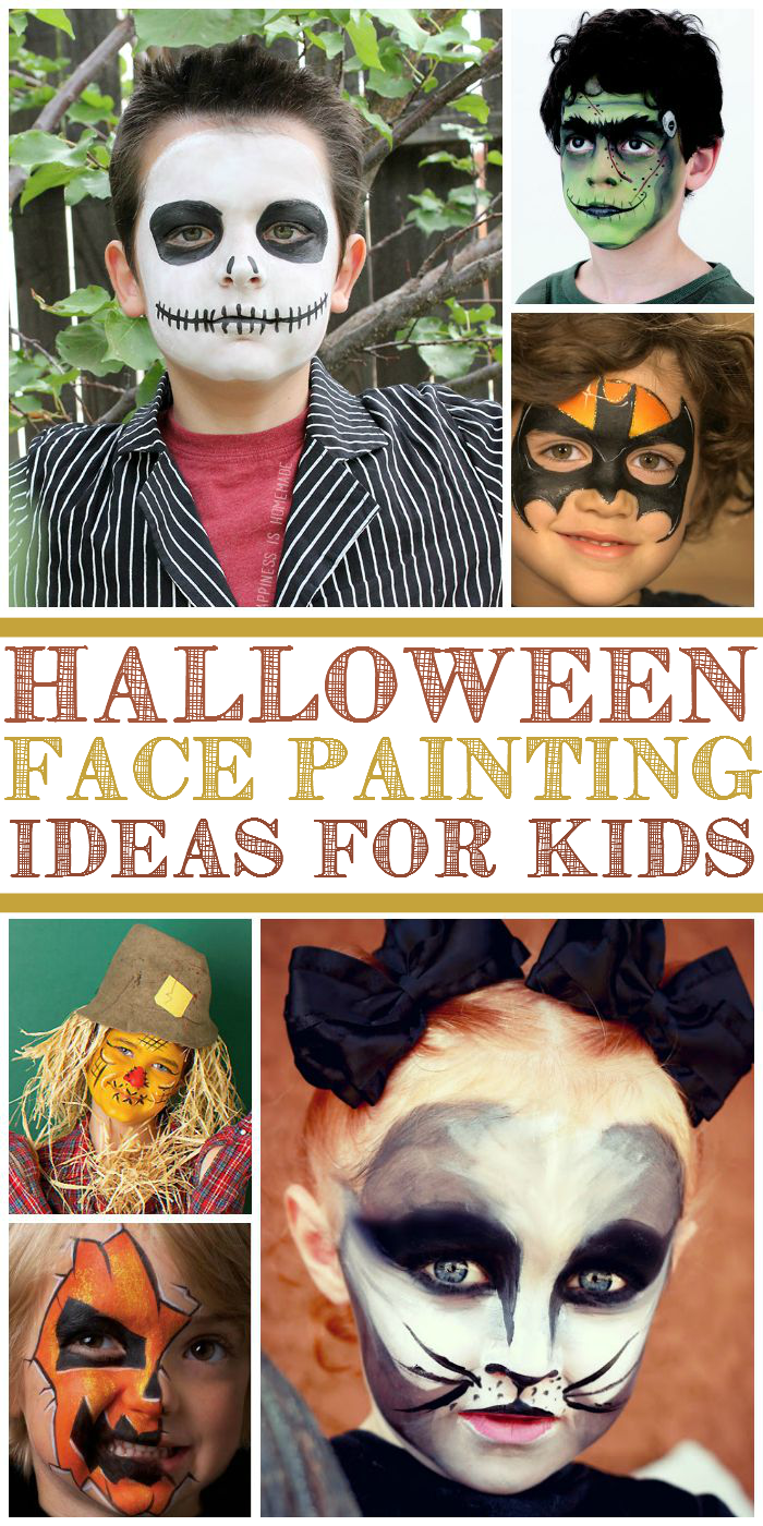 kids face painting ideas for halloween. Black Bedroom Furniture Sets. Home Design Ideas