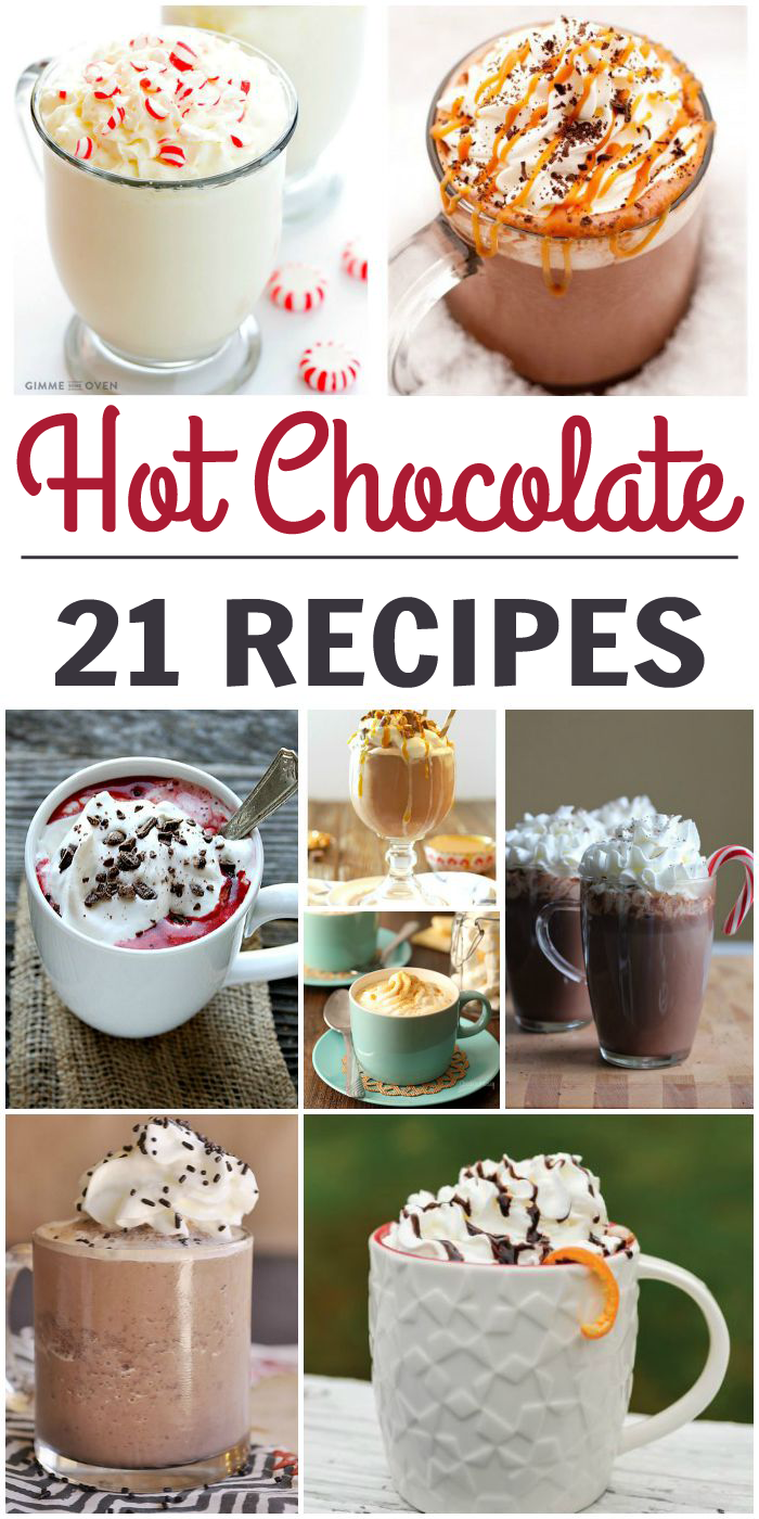 21 Delicious Hot Chocolate Recipes - One Crazy House