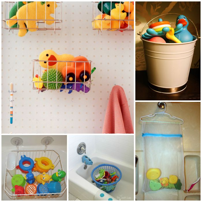 Bath Toy Storage Ideas