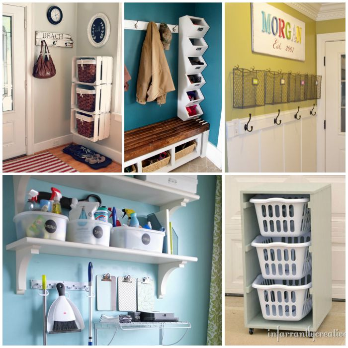 Mudroom organization ideas that will keep the rest of your Small home organization