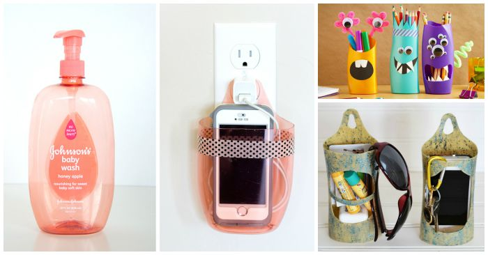15 Ways to Reuse Shampoo and Soap Bottles