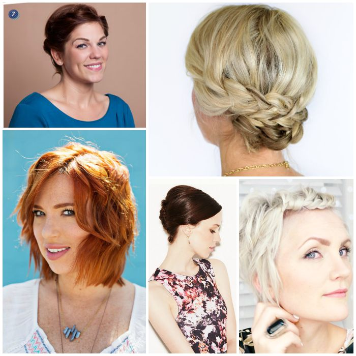 Stupendous 18 Easy Styles For Short Hair Short Hairstyles Gunalazisus
