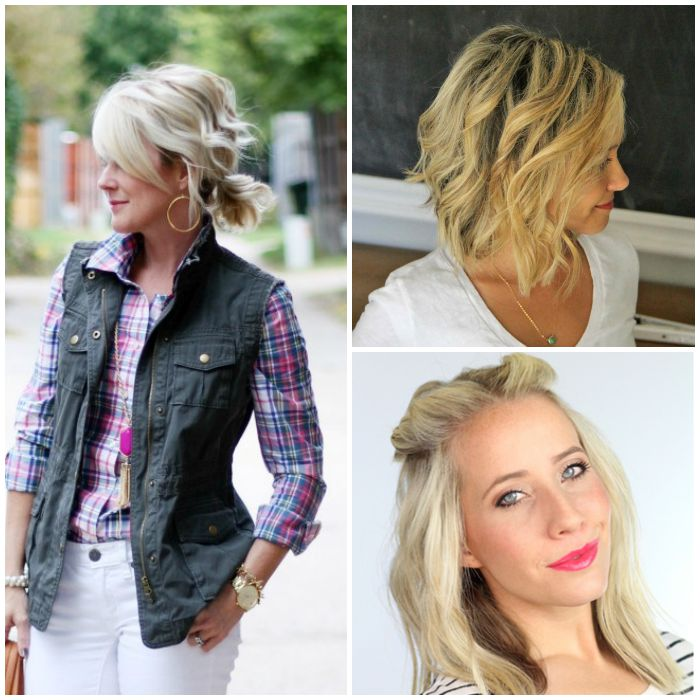 Fabulous 18 Easy Styles For Short Hair Short Hairstyles Gunalazisus