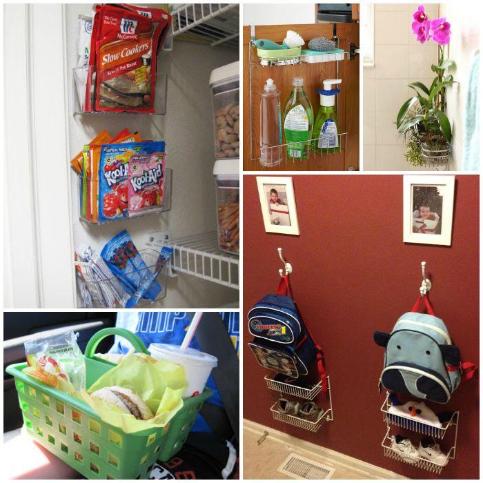 Ways to Organize With Shower Caddies