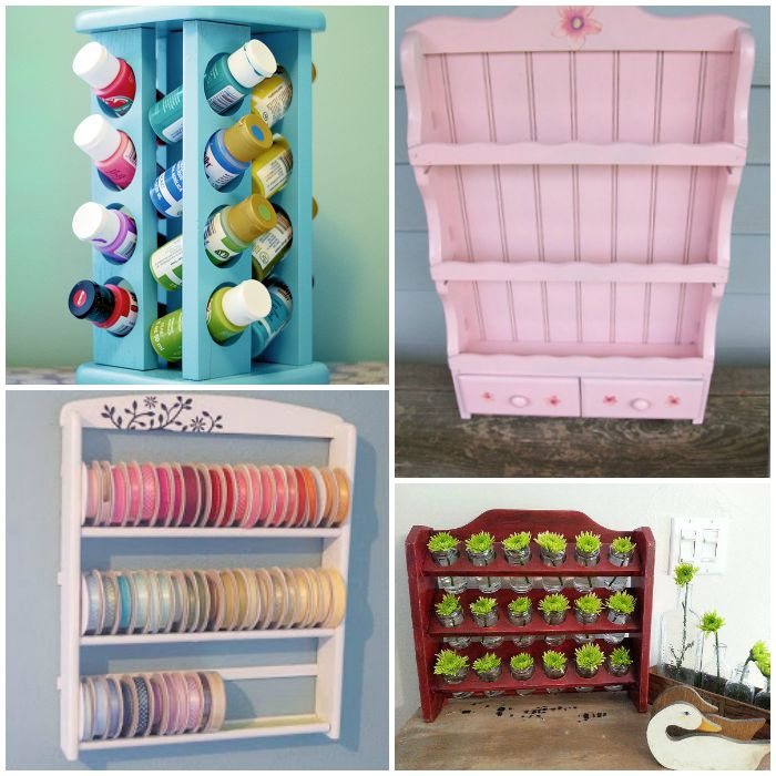 How to Reuse Old Spice Racks