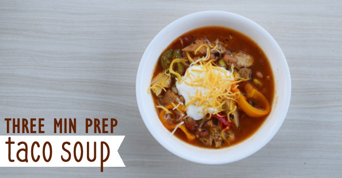 Easiest Taco Soup You'll Ever Make