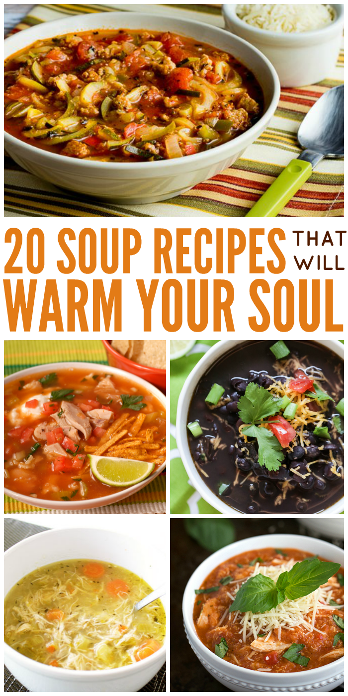 20 soup recipes you need in your life