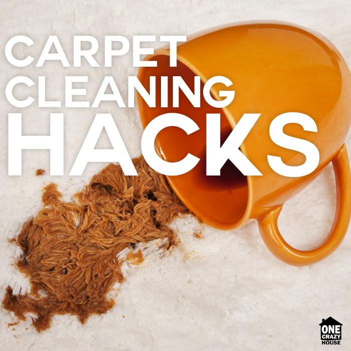 10 Carpet Cleaning Hacks
