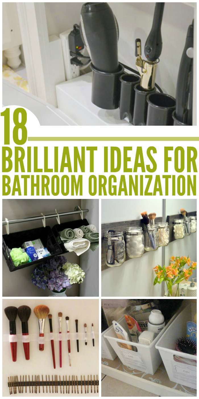 Peachy Brilliant Ideas For An Organized Bathroom Largest Home Design Picture Inspirations Pitcheantrous