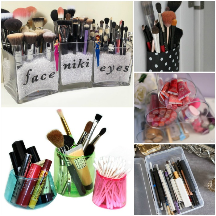 15 Clever Ways to Organize Your Makeup