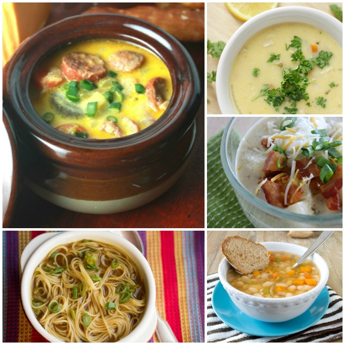 thick and hearty soups