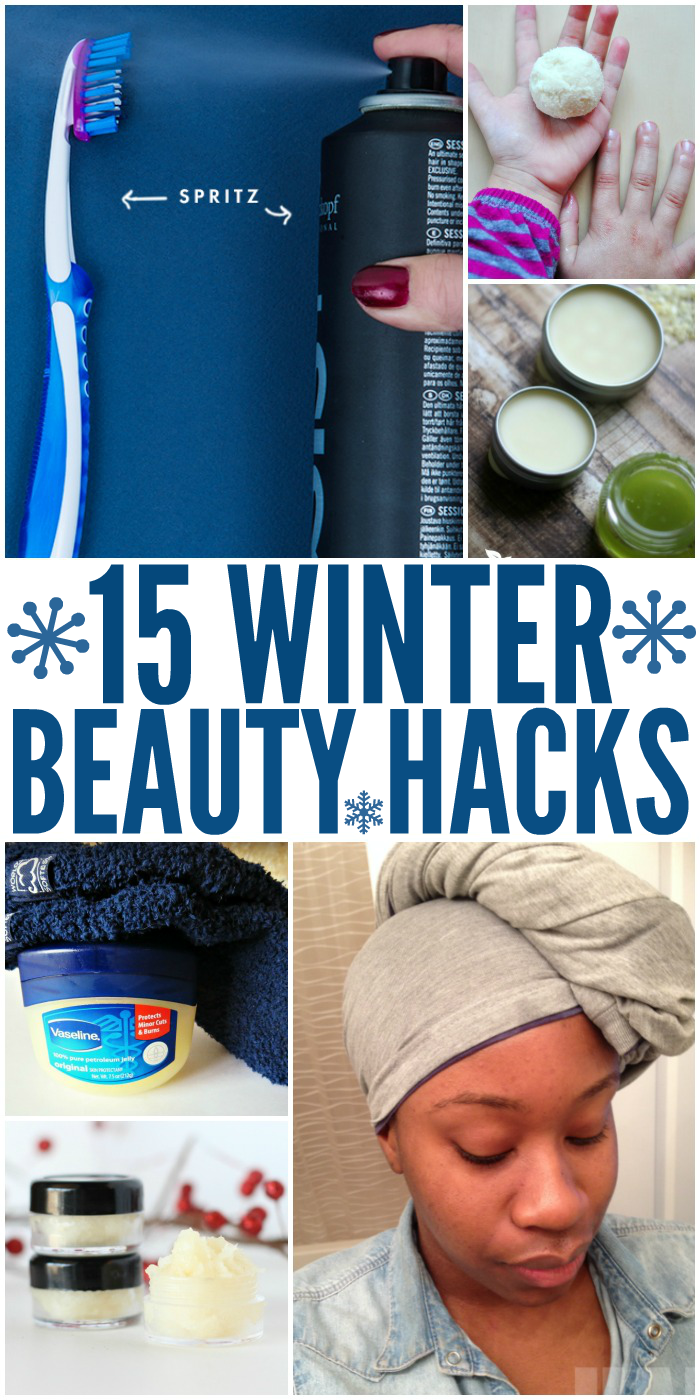 15 Winter Beauty Hacks Every Woman Needs to Know
