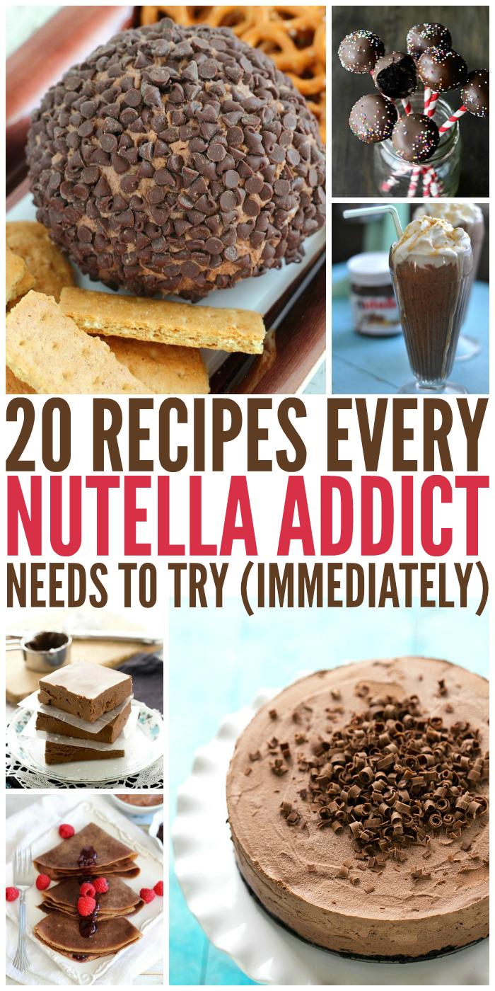 20 Recipes Every Nutella Addict Will Love