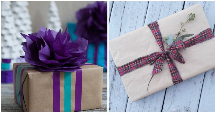 Clever DIY Christmas Gift Wrapping Ideas and Hacks