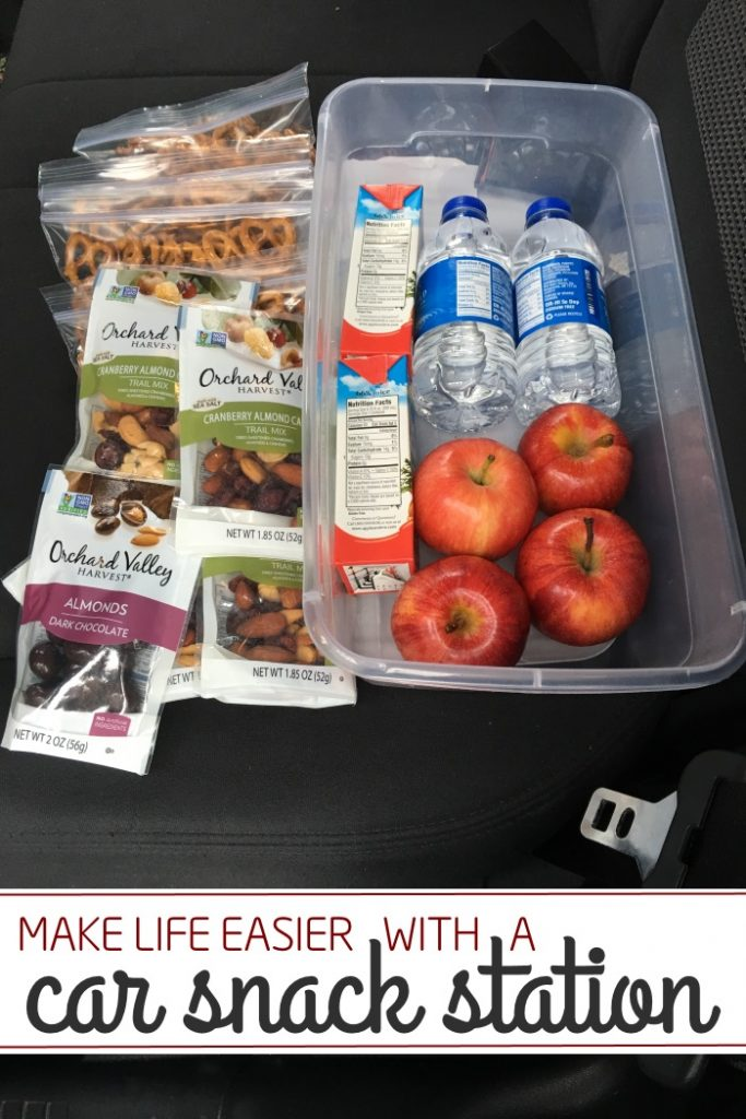 Genius Idea: Have a car snack kit